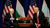 Abbas says Middle East peace closer with Trump engaged