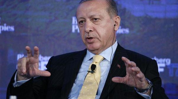 Turkey's Erdogan will discuss Syria with Russia's Putin next week
