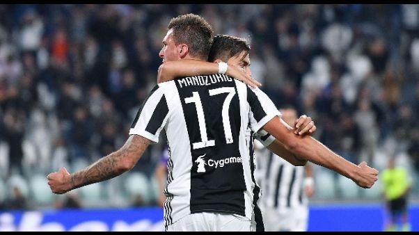 Serie A, Juve e Napoli a punteggio pieno