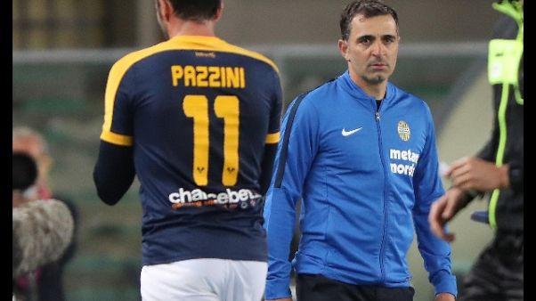 Verona: Pecchia, preso punto importante