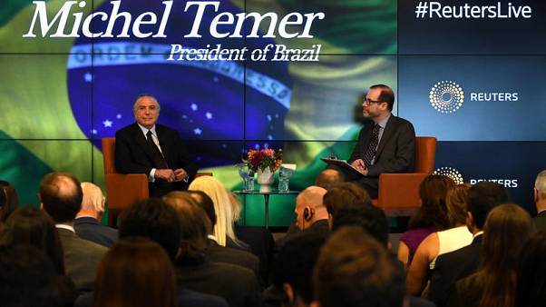 Brazil's Temer says government not considering privatising Petrobras