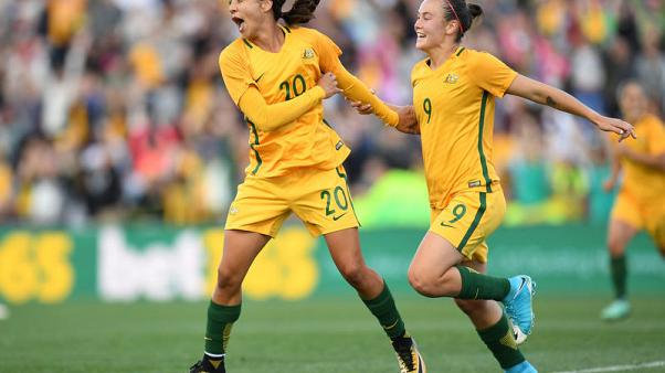Sport - Australian women go pro on back of investment boom