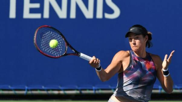 Tennis: Garcia en quarts de finale à Tokyo