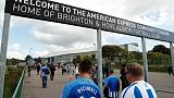Brighton and Hove Albion v Newcastle United - fans' view
