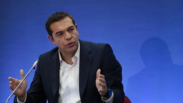 "As crisis ebbs, Tsipras promises doubters a ""new"" Greece"