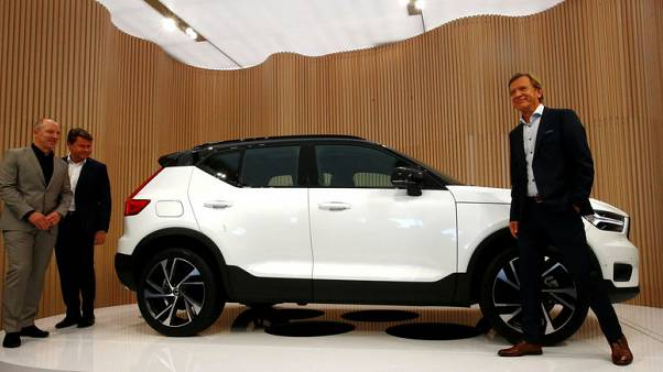 Volvo rolls out compact SUV in latest upmarket move under Geely