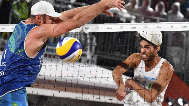 Beach volley: Lupo a 'Red Bull Fit&Fly'