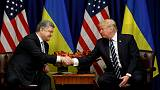 Ukraine President says Trump backs U.N. deployment along border with Russia