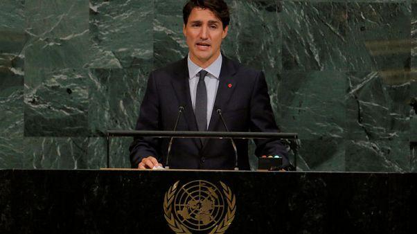 Canada's Trudeau vows better aboriginal relations in U.N. speech