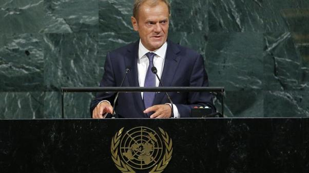 EU's Tusk calls summit in December on euro zone future