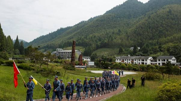 Reliving China's Long March ahead of party congress