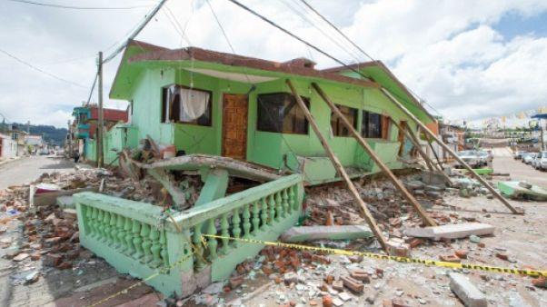 A Mexico, des survivants du séisme face à un avenir incertain