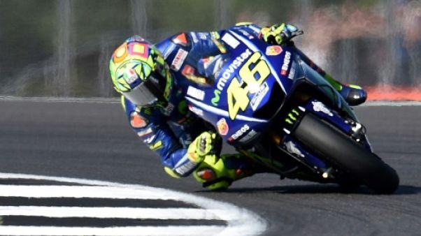 Moto: Rossi tente un incroyable retour au GP d'Aragon