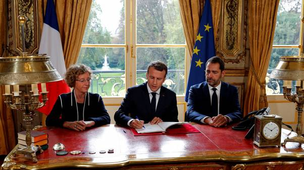 Macron signs French labour reform decrees