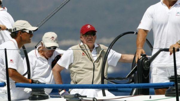 Le roi d'Espagne Juan Carlos, champion du monde de voile à 79 ans