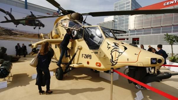 Germany lifts grounding order for Airbus Tiger helicopters