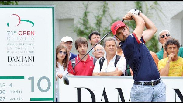 Golf: Abruzzo Open, Molteni leader