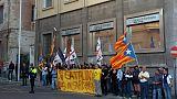 Catalogna: sit-in indipendentisti sardi