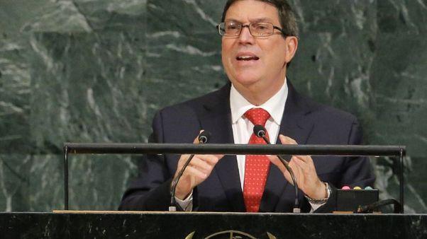 'Unfortunate' if incidents U.S. says harming diplomats politicized - Cuba