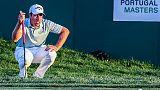 Golf: Bertasio leader Portugal Masters