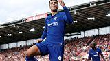 Morata scores hat-trick as Chelsea thump Stoke 4-0