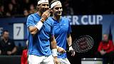 Tennis:Laver Cup,Federer-Nadal doppio ok