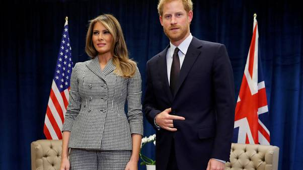 Melania Trump invites Prince Harry to White House, thanks U.S. Invictus team