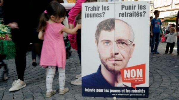 Suisse: référendum sur la réforme des retraites