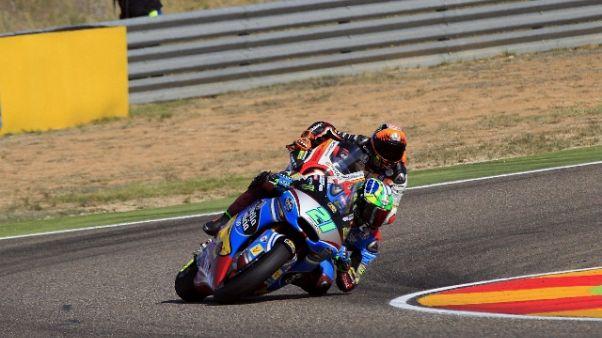 Gp Aragon: Moto2, vince Morbidelli