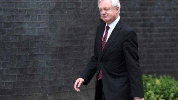 Brexit: Davis dément l'acceptation du solde de 40 milliards de Livres
