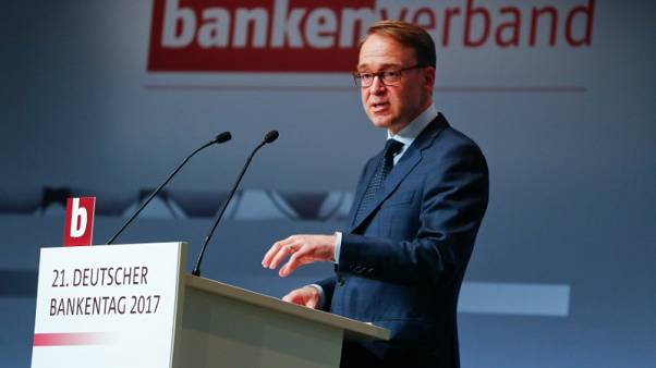 ECB's Weidmann says should be no veto on nationality of Draghi's successor