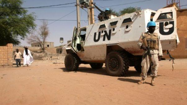 Mali: 3 Casques bleus tués, 5 blessés dans une attaque contre un convoi