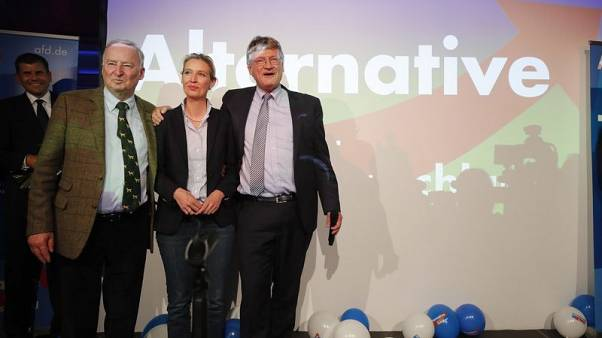 Alarmed by AfD rise, German industry urges swift coalition-building
