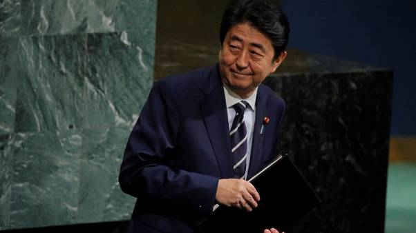 Japan Abe to order 2 trillion yen stimulus package - sources