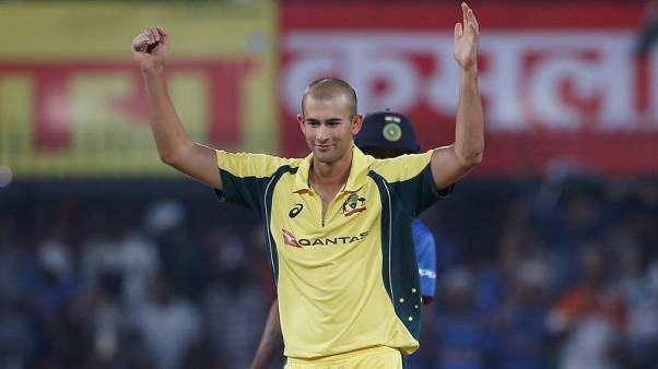 Cricket - Agar out of remainder of India tour with broken finger