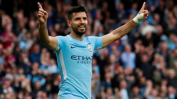 With record in sight, Aguero among world's best - Guardiola