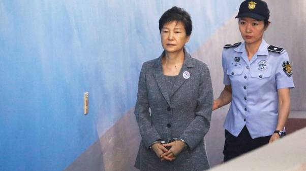 Supporters of South Korea ex-leader Park ask U.N. body to probe her detention conditions