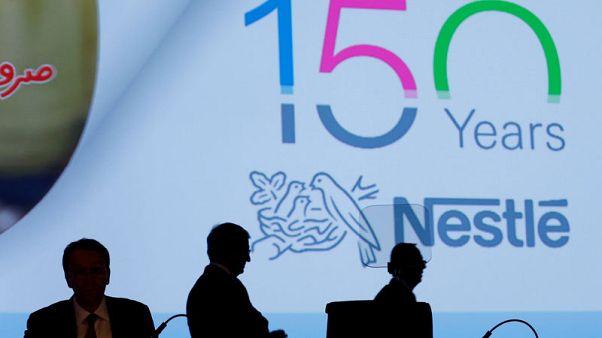 Nestle sets formal margin goal, confirms growth target
