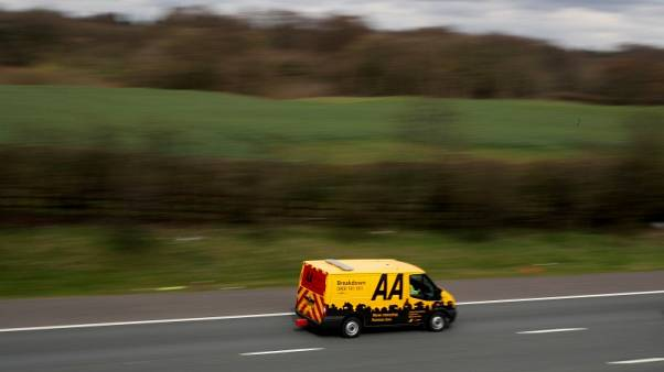 Motoring group AA's interim core profit flat, appoints CEO