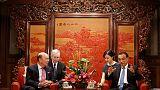 U.S. Commerce Secretary Ross tells China to guarantee fair treatment for U.S. firms