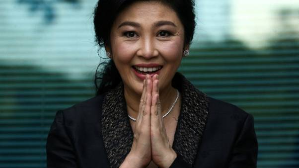 Thai junta says knows whereabouts of former PM Yingluck