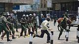Kenyan police use tear gas, batons to disperse opposition protesters