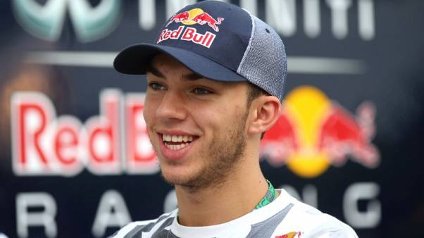 Motor racing-Gasly replaces Kvyat at Toro Rosso for next races
