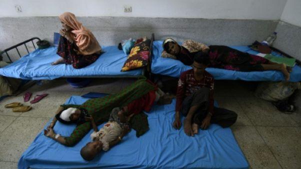 Les hôpitaux du Bangladesh débordés par les réfugiés rohingyas