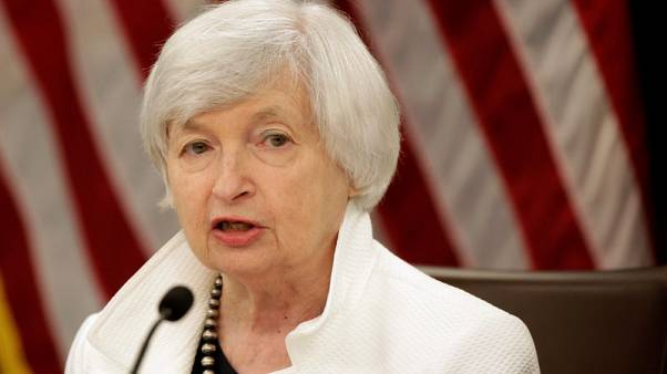 Fed's Yellen says gradual hikes should continue, despite weak inflation