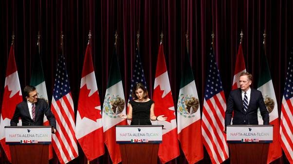 U.S. homes in on labour, investment as top officials join talks