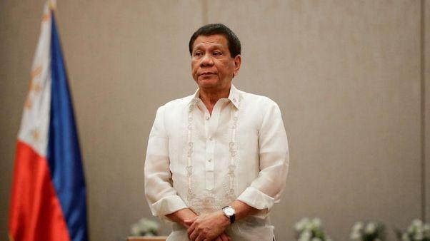 Philippines' Duterte wants U.S. help in fighting drugs, blames triads
