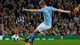 De Bruyne and Sterling strike as City sink Shakhtar