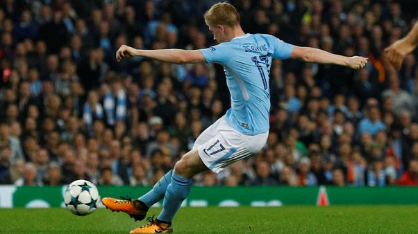 De Bruyne and Sterling strike as City sink Shakhtar