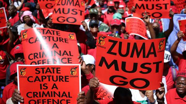 South African unions to march against corruption under Zuma